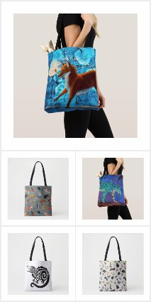 All Over Animal Totes