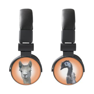 Alpaca Emu Headphones