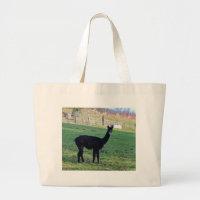 Alpaca Large Tote Bag