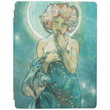 Alphonse Mucha Moonlight Clair De Lune Art Nouveau iPad Smart Cover
