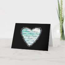 Always Together Valentine Romance Love Card