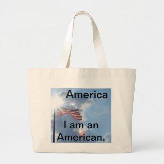 America - I am an American Bag