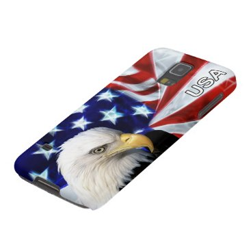American Flag with Bald Eagle Patriotic Case For Galaxy S5