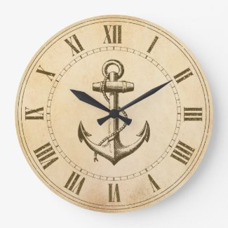 Anchor Round Clocks
