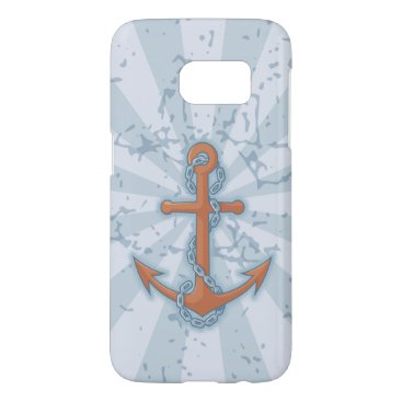 Anchor with Chain Samsung Galaxy S7 Case