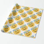 Angel Emoji Wrapping Paper