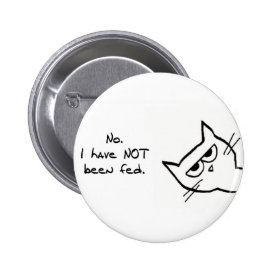 Angry Cat has NOT been fed! Button