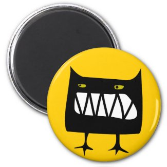 Angry Wossum magnet