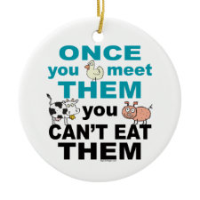 vegan ornaments
