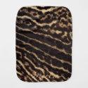 Animal (fur) Print Textured burp cloth