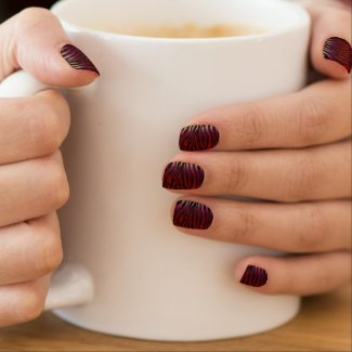 Animal Print Abstract Pattern Minx Nails Minx® Nail Wraps