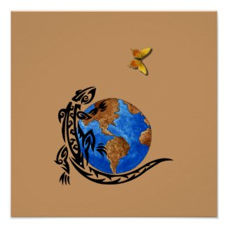 Animal World print