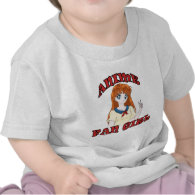 Anime Fan Girl Infants T-Shirts