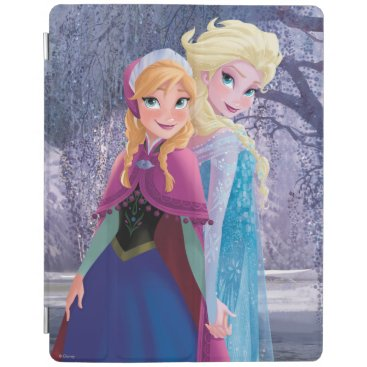 Anna and Elsa | Holding Hands iPad Smart Cover