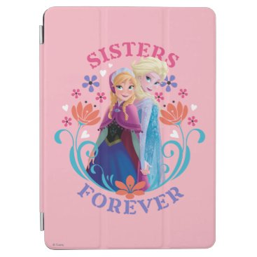 Anna and Elsa | Sisters with Flowers iPad Air Cover