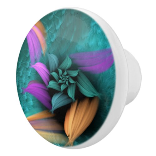 Apo Flower Ceramic Knob