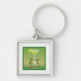 Appletini Green Keychains