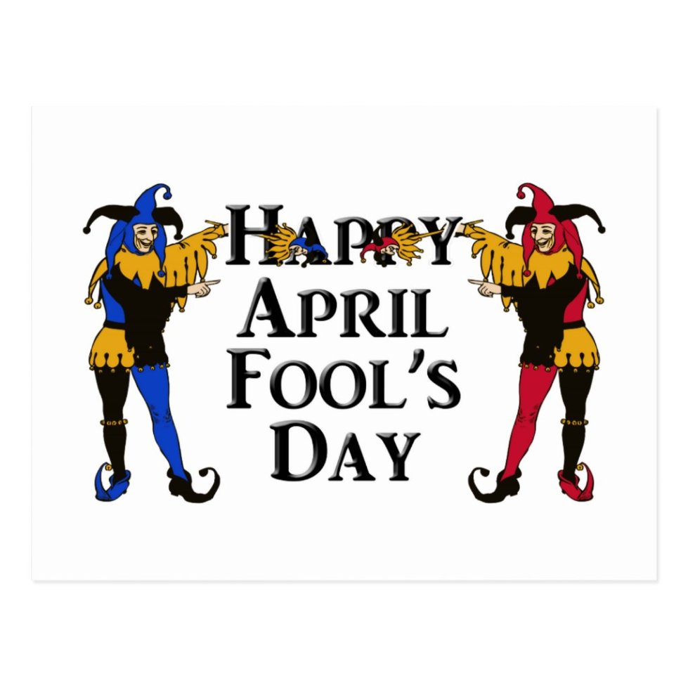 April Fool's Day Postcard