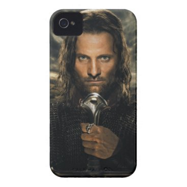 Aragorn Sword Down iPhone 4 Case