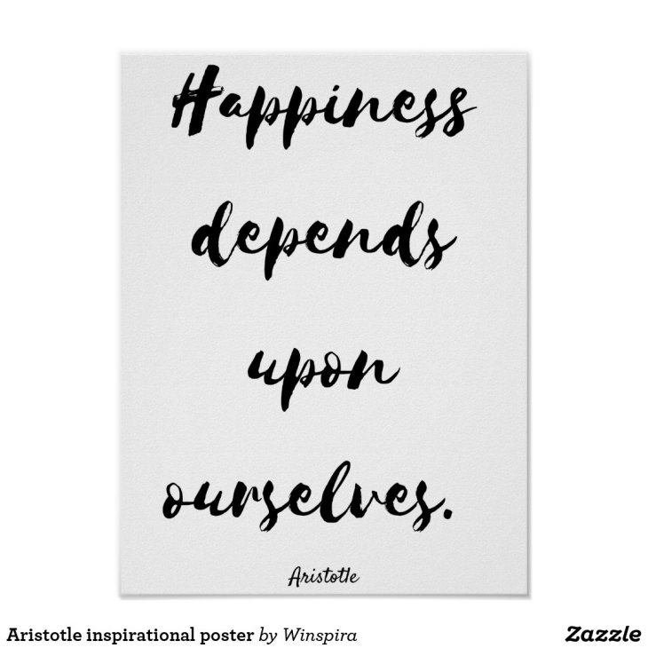 Aristotle inspirational poster