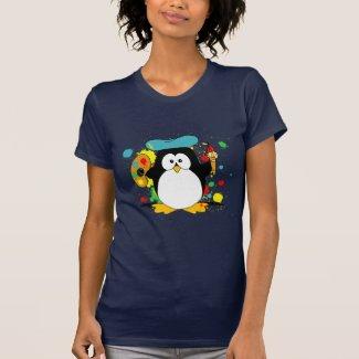 Artistic Penguin Shirts