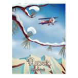 Aspen Colorado travel poster Postcard