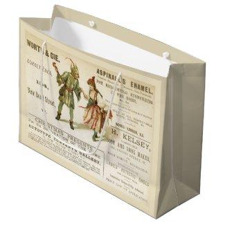 Aspinall's Enamel Large Gift Bag