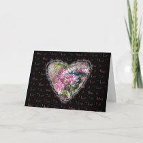 Aster Heart Valentine Love Romance Neovictorian cards