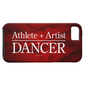 Athlete   Artist = Dancer iPhone SE/5/5s Case