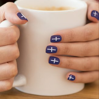 Australian Eureka Stockade flag minx nails