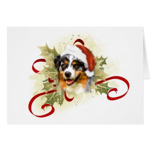 Australian Shepherd Christmas Cards Zazzle