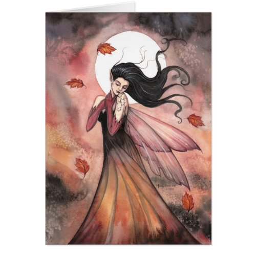 Autumn Dreams Gothic Fairy Fantasy Art