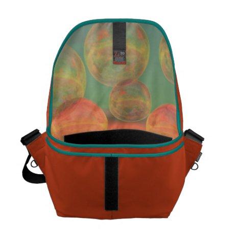 Autumn Ruminations – Gold & Rose Glory Messenger Bag