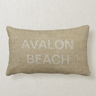 Avalon Beach lumbar cushion