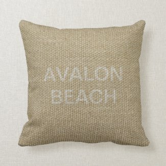 Back of Avalon Beach cushions