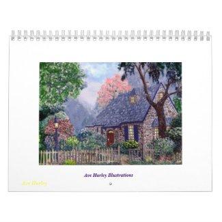 Ave Hurley Illustrations calendar