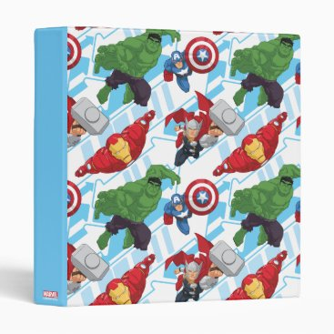 Avengers Character Action Kids Pattern Binder