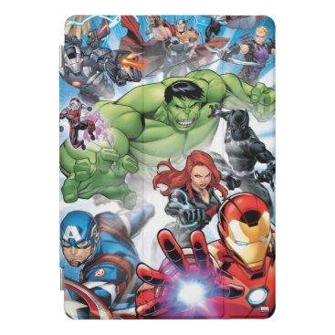 Avengers Classics | Avengers Assemble Into Action iPad Pro Cover