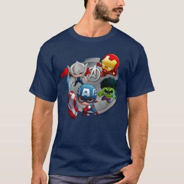 Avengers Classics | Chibi Avengers Assembled T-Shirt