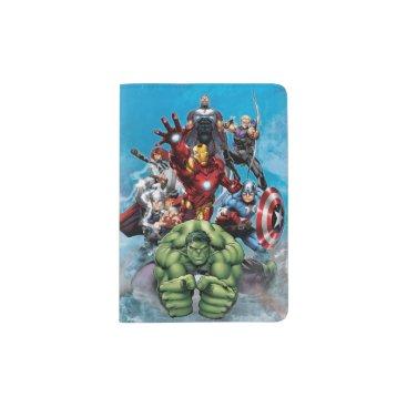 Avengers Classics | Hulk Leading Avengers Passport Holder