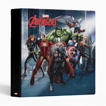 Avengers Classics   Thor Leading Avengers 3 Ring Binder