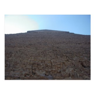 Awe-inspiring Pyramid in Egypt Post Card