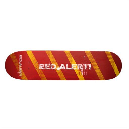 AWESOME RED ALERT BOARD! - Red Alert! Warning Skateboard ...