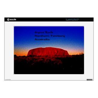 """Ayres Rock Australia 15"""" Laptop Skin"""