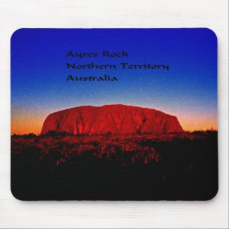 Ayres Rock Australia Mouse Pad