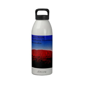 Ayres Rock Australia Reusable Water Bottles