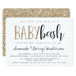 Baby Bash S Shower Invitation