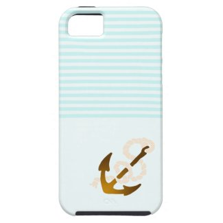 Baby blue nautical iPhone5 covers