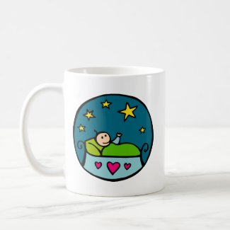 Baby Reaching for the Stars mug