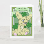 Baby's 1st St. Patrick's Day Card